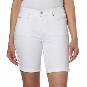 Calvin Klein Women's City Shorts White Size 2 NWT